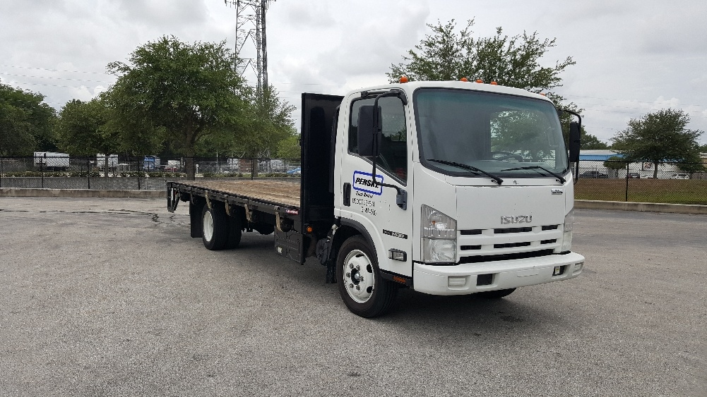 Flatbed Truck-Light and Medium Duty Trucks-Isuzu-2012-NQR-RIVIERA BEACH-FL-135,844 miles-$28,000