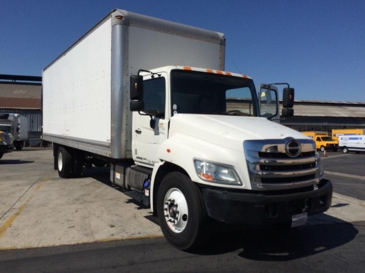 Medium Duty Box Truck-Light and Medium Duty Trucks-Hino-2013-338-MONTEBELLO-CA-104,477 miles-$43,000