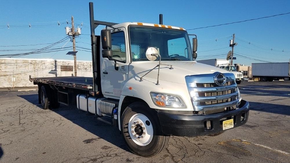 Flatbed Truck-Light and Medium Duty Trucks-Hino-2012-268-LINDEN-NJ-126,220 miles-$37,750