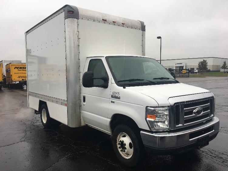Light Duty Box Truck-Light and Medium Duty Trucks-Ford-2011-E350-LANSING-MI-117,008 miles-$15,750