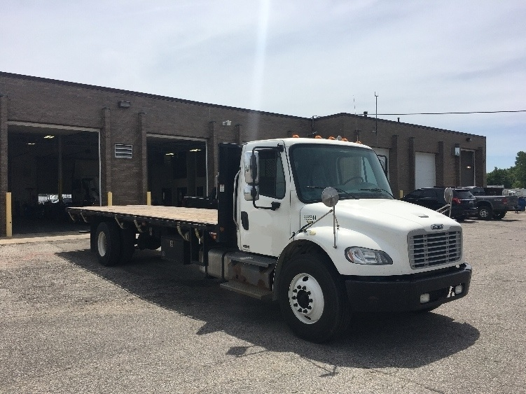Flatbed Truck-Light and Medium Duty Trucks-Freightliner-2012-M2-COLDWATER-MI-234,648 miles-$27,250