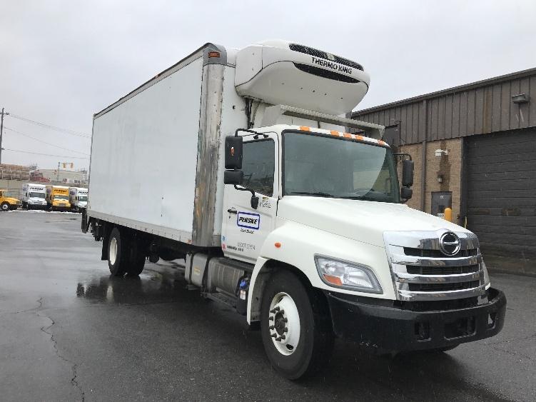 Reefer Truck-Light and Medium Duty Trucks-Hino-2012-338-NORTH BERGEN-NJ-164,095 miles-$37,250