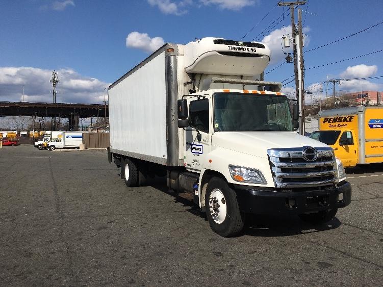 Reefer Truck-Light and Medium Duty Trucks-Hino-2012-338-NORTH BERGEN-NJ-157,434 miles-$37,000
