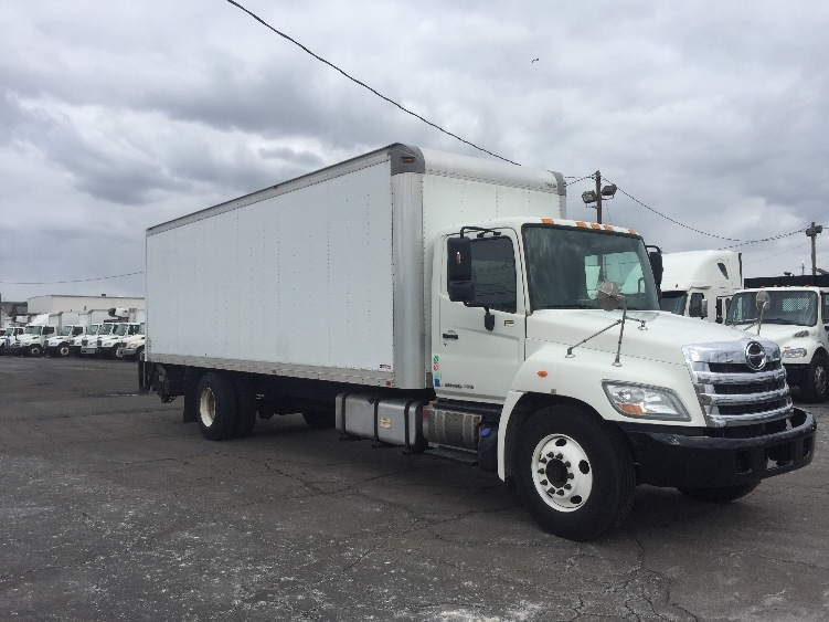 Medium Duty Box Truck-Light and Medium Duty Trucks-Hino-2012-338-LINDEN-NJ-262,749 miles-$23,750