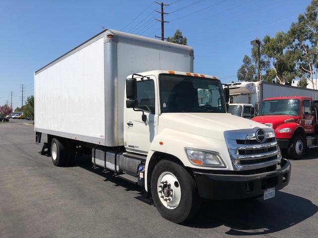 Medium Duty Box Truck-Light and Medium Duty Trucks-Hino-2012-268-VERNON-CA-41,970 miles-$50,500