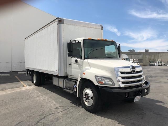 Medium Duty Box Truck-Light and Medium Duty Trucks-Hino-2012-268-VERNON-CA-99,783 miles-$48,000