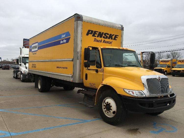 Medium Duty Box Truck-Light and Medium Duty Trucks-International-2012-4300-ALLEN PARK-MI-160,591 miles-$24,500