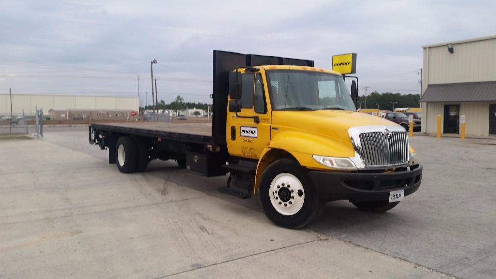 Flatbed Truck-Light and Medium Duty Trucks-International-2012-4300-GULFPORT-MS-126,652 miles-$33,500