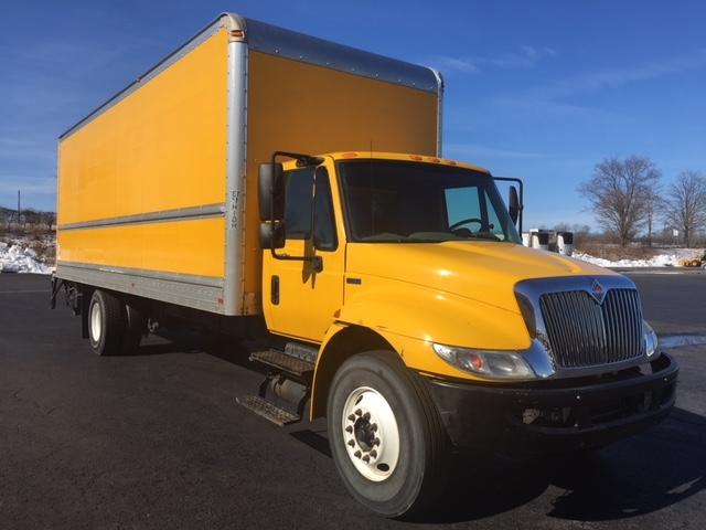 Medium Duty Box Truck-Light and Medium Duty Trucks-International-2012-4300M7-WILKES BARRE-PA-167,437 miles-$8,500