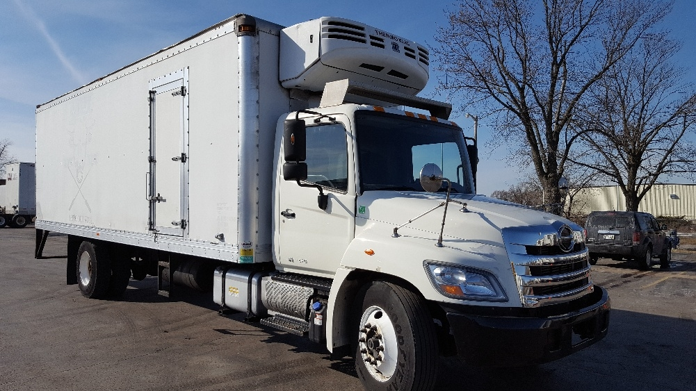 Reefer Truck-Light and Medium Duty Trucks-Hino-2012-338-MADISON-WI-310,745 miles-$19,750