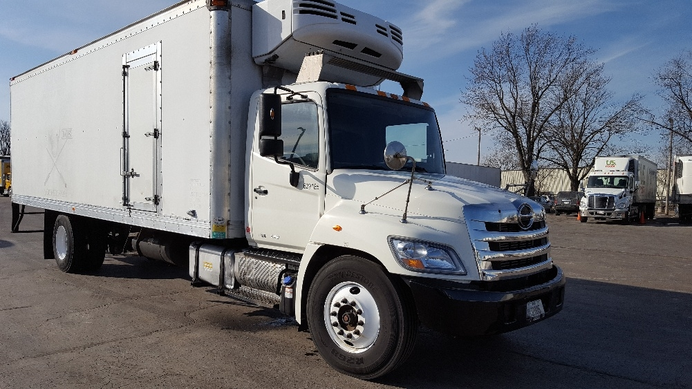 Reefer Truck-Light and Medium Duty Trucks-Hino-2012-338-MADISON-WI-345,643 miles-$21,750