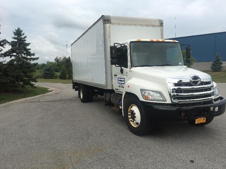 Medium Duty Box Truck-Light and Medium Duty Trucks-Hino-2013-268-ROCHESTER-NY-130,128 miles-$33,750