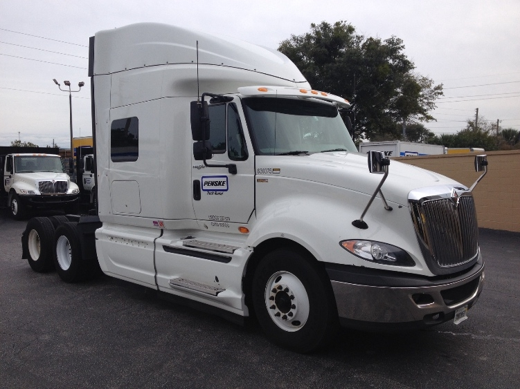 Sleeper Tractor-Heavy Duty Tractors-International-2012-ProStar-WACO-TX-439,273 miles-$24,700