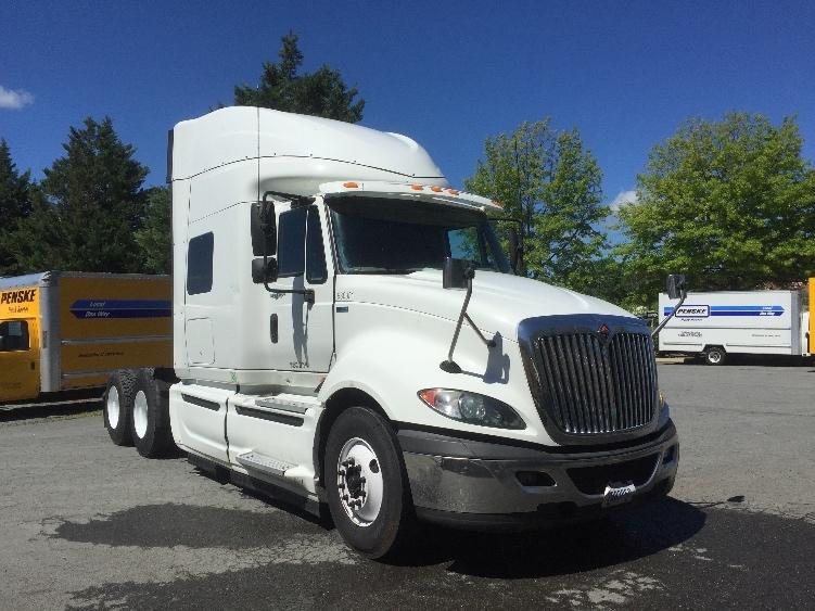 Sleeper Tractor-Heavy Duty Tractors-International-2012-ProStar-CHARLOTTESVILLE-VA-377,398 miles-$27,000