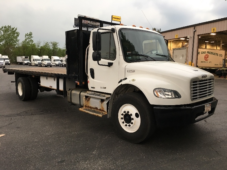 Flatbed Truck-Light and Medium Duty Trucks-Freightliner-2012-M2-CHICOPEE-MA-99,090 miles-$32,750