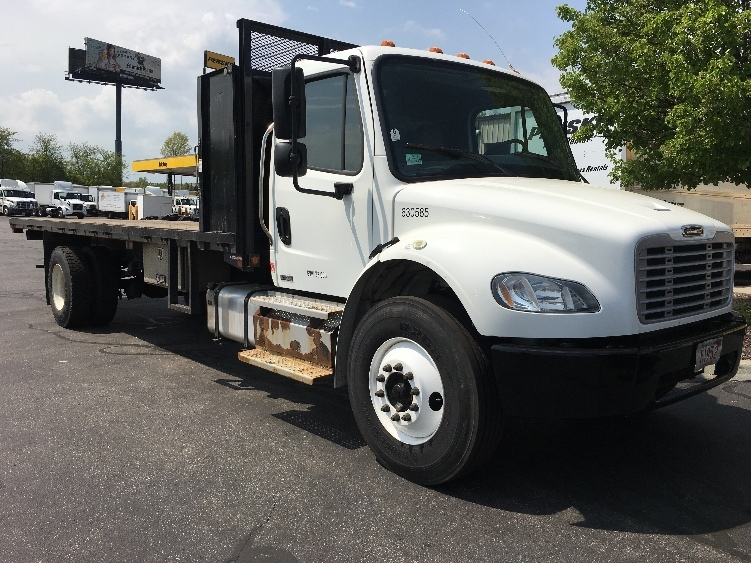 Flatbed Truck-Light and Medium Duty Trucks-Freightliner-2012-M2-CHICOPEE-MA-91,454 miles-$33,000