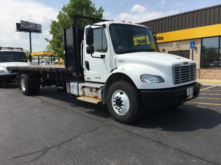 Flatbed Truck-Light and Medium Duty Trucks-Freightliner-2012-M2-CHICOPEE-MA-115,456 miles-$31,500