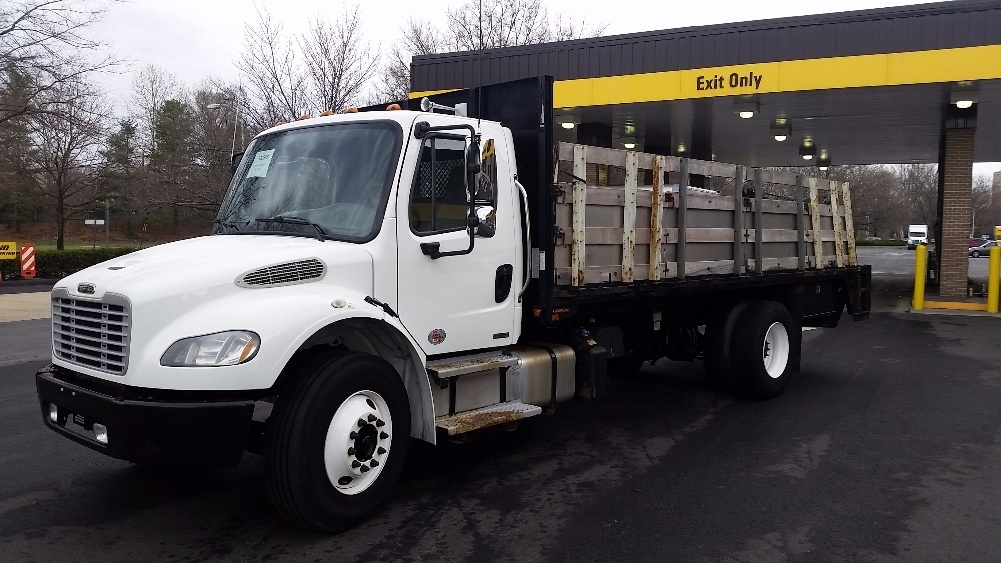 Flatbed Truck-Light and Medium Duty Trucks-Freightliner-2012-M2-READING-PA-246,256 miles-$23,000