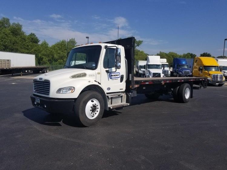 Flatbed Truck-Light and Medium Duty Trucks-Freightliner-2012-M2-AUSTIN-TX-136,329 miles-$50,750