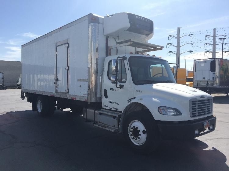 Reefer Truck-Light and Medium Duty Trucks-Freightliner-2012-M2-WEST VALLEY CITY-UT-126,546 miles-$49,500