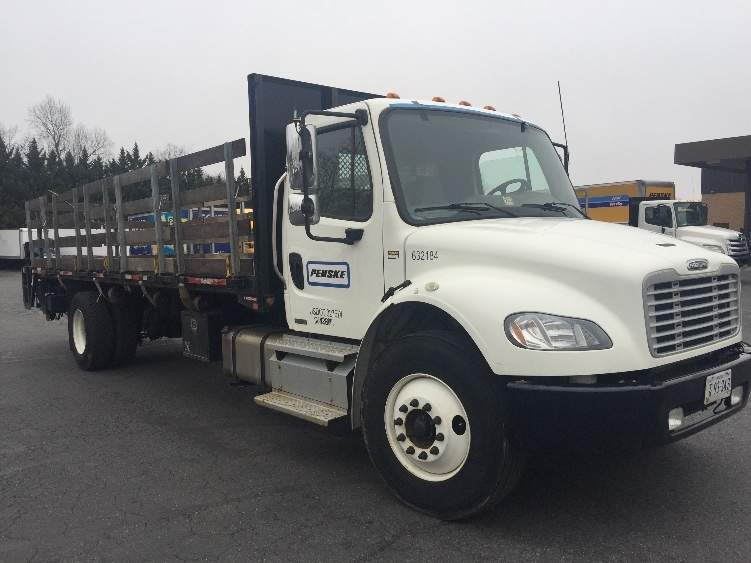 Flatbed Truck-Light and Medium Duty Trucks-Freightliner-2012-M2-CAPITOL HEIGHTS-MD-150,510 miles-$37,250