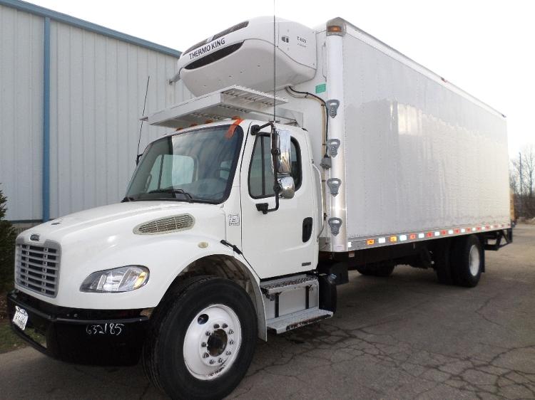 Reefer Truck-Light and Medium Duty Trucks-Freightliner-2012-M2-PLYMOUTH-MI-336,537 miles-$26,750