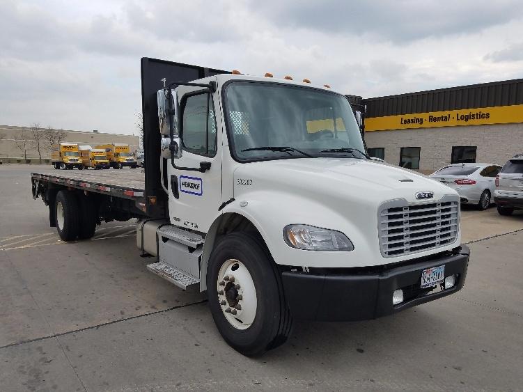 Flatbed Truck-Light and Medium Duty Trucks-Freightliner-2012-M2-HOUSTON-TX-104,472 miles-$55,500