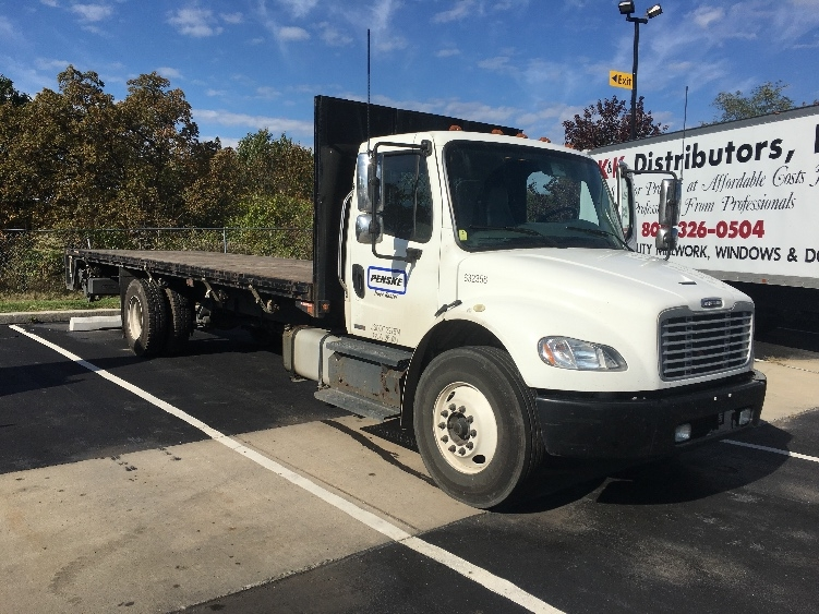 Flatbed Truck-Light and Medium Duty Trucks-Freightliner-2012-M2-ALBANY-NY-123,963 miles-$43,250