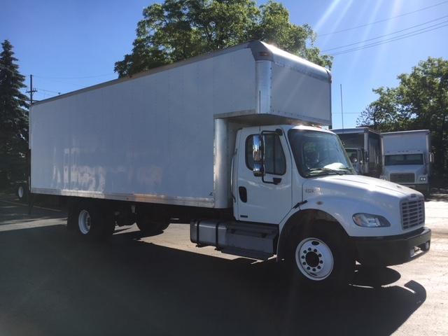 Medium Duty Box Truck-Light and Medium Duty Trucks-Freightliner-2012-M2-PLYMOUTH-MI-228,594 miles-$34,500