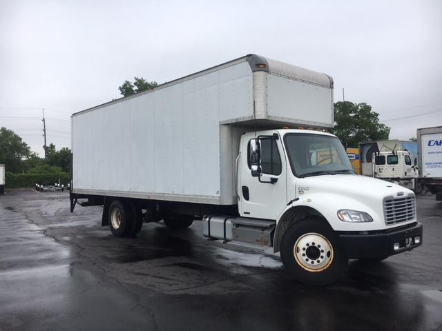 Medium Duty Box Truck-Light and Medium Duty Trucks-Freightliner-2012-M2-PLYMOUTH-MI-202,608 miles-$32,500