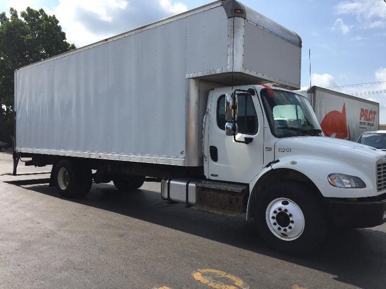 Medium Duty Box Truck-Light and Medium Duty Trucks-Freightliner-2012-M2-PLYMOUTH-MI-215,270 miles-$31,500