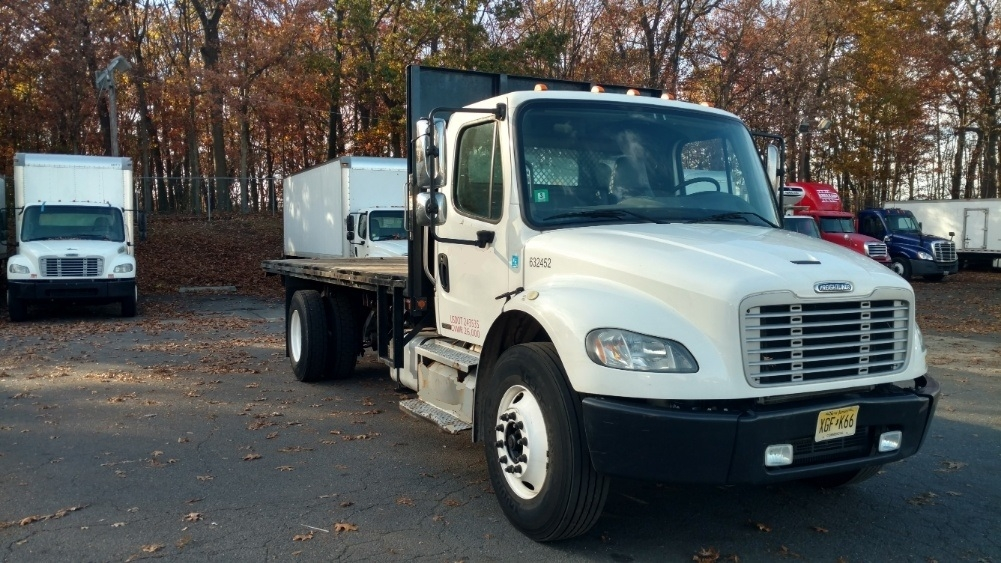Flatbed Truck-Light and Medium Duty Trucks-Freightliner-2012-M2-EDISON-NJ-213,647 miles-$27,000