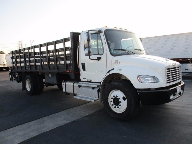 Flatbed Truck-Light and Medium Duty Trucks-Freightliner-2012-M2-TORRANCE-CA-98,874 miles-$52,250