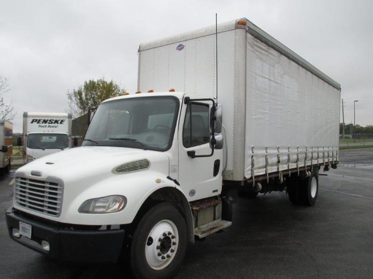 Medium Duty Box Truck-Light and Medium Duty Trucks-Freightliner-2012-M2-LINCOLN-NE-163,225 miles-$32,500