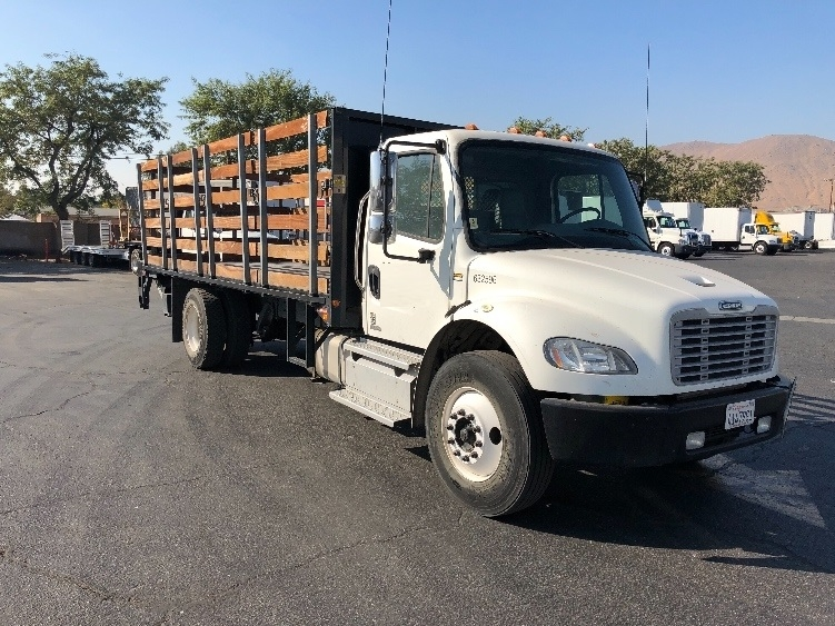 Flatbed Truck-Light and Medium Duty Trucks-Freightliner-2012-M2-TORRANCE-CA-71,345 miles-$48,500