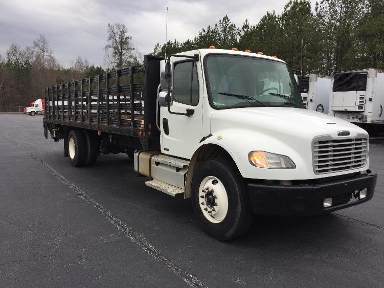 Flatbed Truck-Light and Medium Duty Trucks-Freightliner-2012-M2-KENNESAW-GA-156,112 miles-$42,500