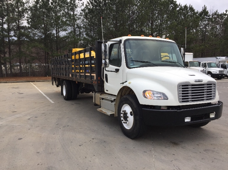 Flatbed Truck-Light and Medium Duty Trucks-Freightliner-2012-M2-KENNESAW-GA-151,228 miles-$43,000