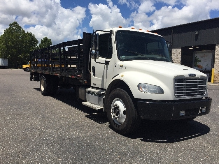 Flatbed Truck-Light and Medium Duty Trucks-Freightliner-2012-M2-JACKSONVILLE-FL-163,456 miles-$46,250