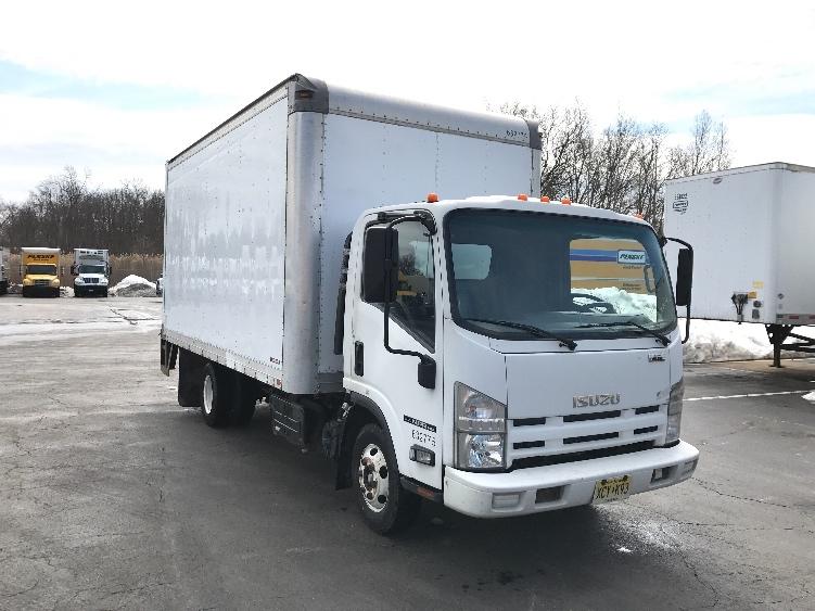 Medium Duty Box Truck-Light and Medium Duty Trucks-Isuzu-2012-NPR-PARSIPPANY-NJ-163,801 miles-$20,750