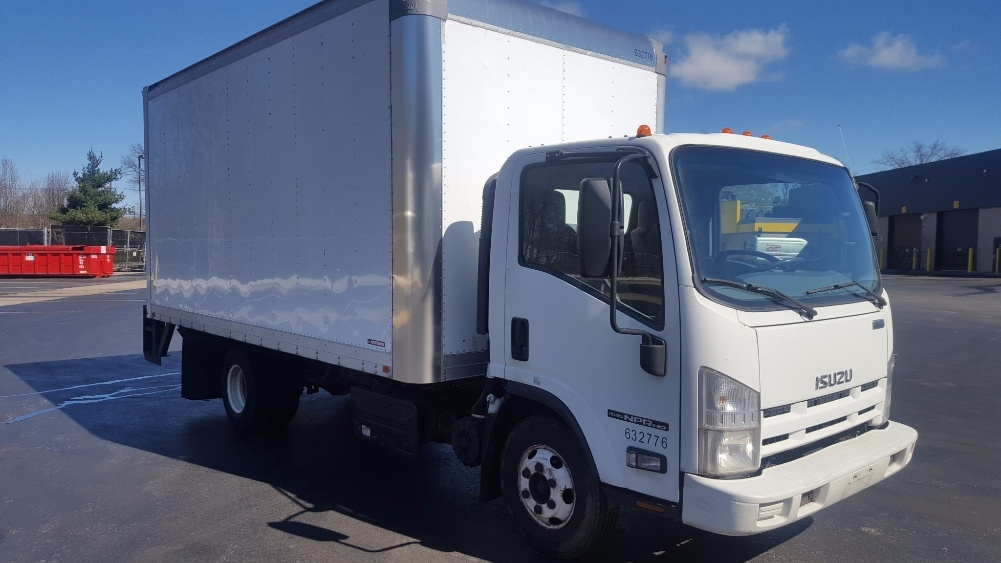 Medium Duty Box Truck-Light and Medium Duty Trucks-Isuzu-2012-NPR-PENNSAUKEN-NJ-165,860 miles-$20,750