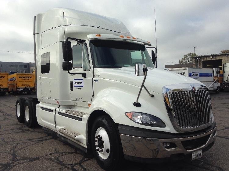 Sleeper Tractor-Heavy Duty Tractors-International-2012-ProStar-READING-PA-343,374 miles-$24,000