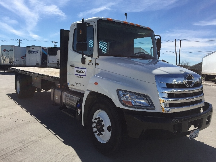 Flatbed Truck-Light and Medium Duty Trucks-Hino-2013-338-ARLINGTON-TX-87,010 miles-$53,500