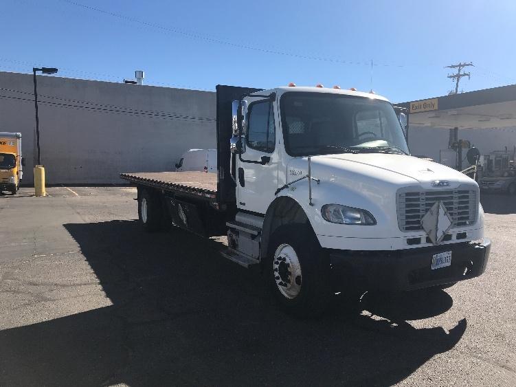 Flatbed Truck-Light and Medium Duty Trucks-Freightliner-2012-M2-DENVER-CO-153,972 miles-$39,000