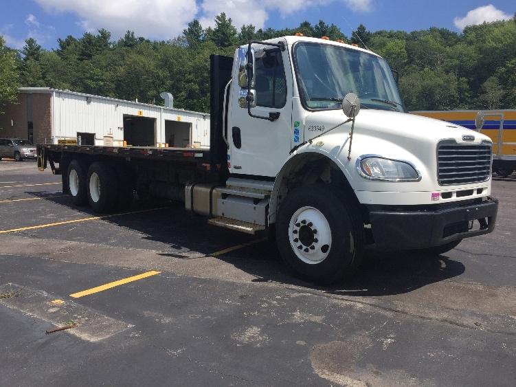 Flatbed Truck-Light and Medium Duty Trucks-Freightliner-2012-M2-AUBURN-MA-267,020 miles-$32,500