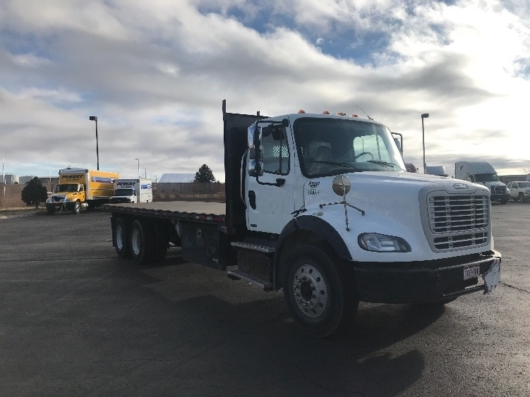 Flatbed Truck-Light and Medium Duty Trucks-Freightliner-2012-M211264S-COLORADO SPRINGS-CO-211,682 miles-$51,750