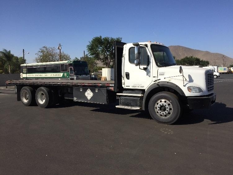 Flatbed Truck-Heavy Duty Tractors-Freightliner-2012-M211264S-JURUPA VALLEY-CA-214,219 miles-$58,750