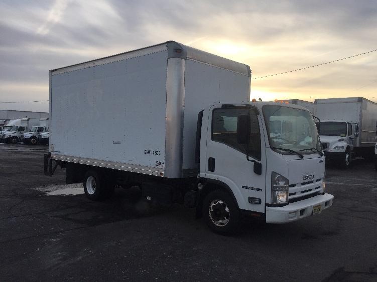 Medium Duty Box Truck-Light and Medium Duty Trucks-Isuzu-2012-NPR-LINDEN-NJ-118,374 miles-$25,750