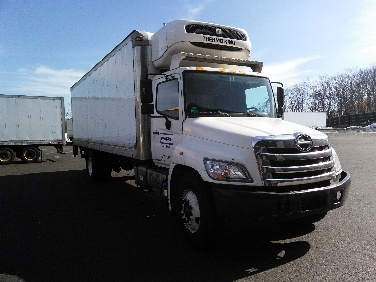 Reefer Truck-Light and Medium Duty Trucks-Hino-2013-268-CRANSTON-RI-180,705 miles-$41,250