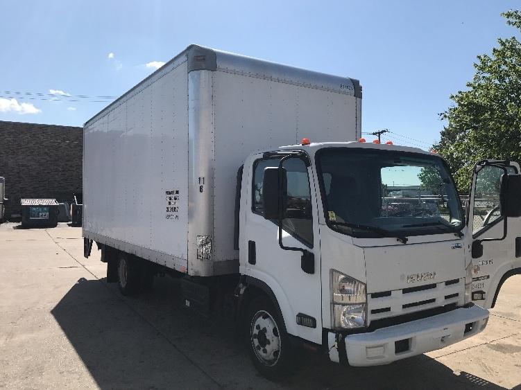 Medium Duty Box Truck-Light and Medium Duty Trucks-Isuzu-2012-NRR-SOUTH HOLLAND-IL-209,063 miles-$22,000