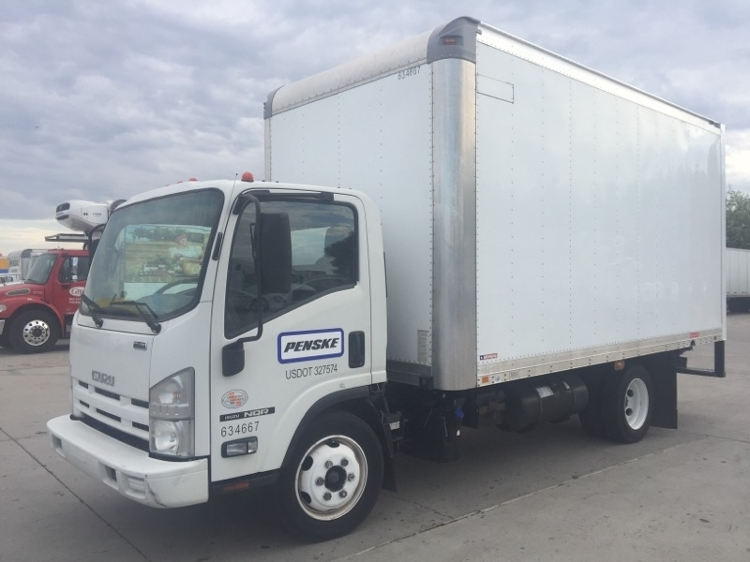 Medium Duty Box Truck-Light and Medium Duty Trucks-Isuzu-2012-NQR-PHOENIX-AZ-152,659 miles-$24,750